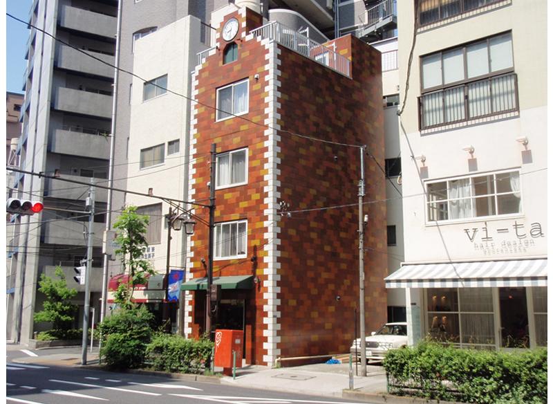 亀ヶ谷ビル外部改修工事 東京都港区