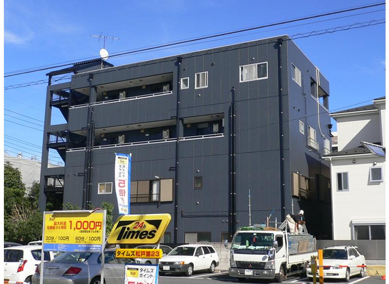 テイクファイブビル外部改修工事 千葉県松戸市