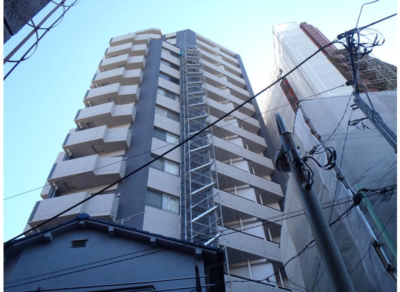 パークアクシス駒込外壁補修工事 東京都豊島区