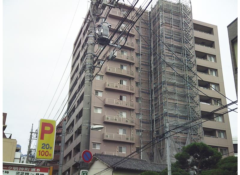 パークキューブ八王子Ⅱ外壁補修工事 東京都八王子市