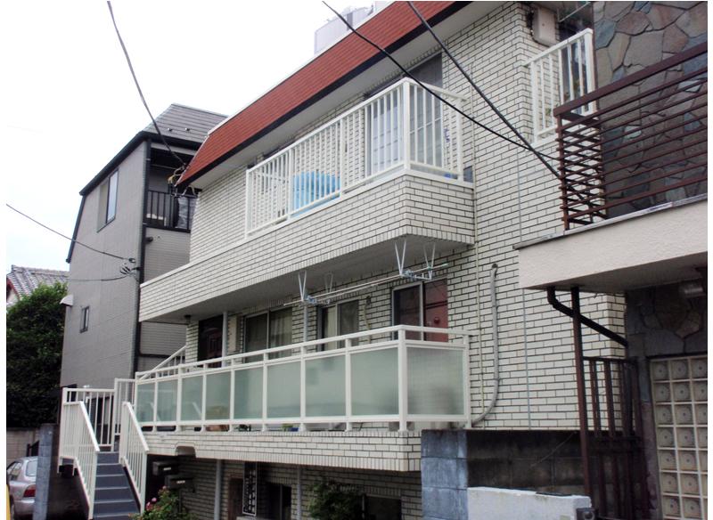 パールハイツ外部改修工事 東京都中野区