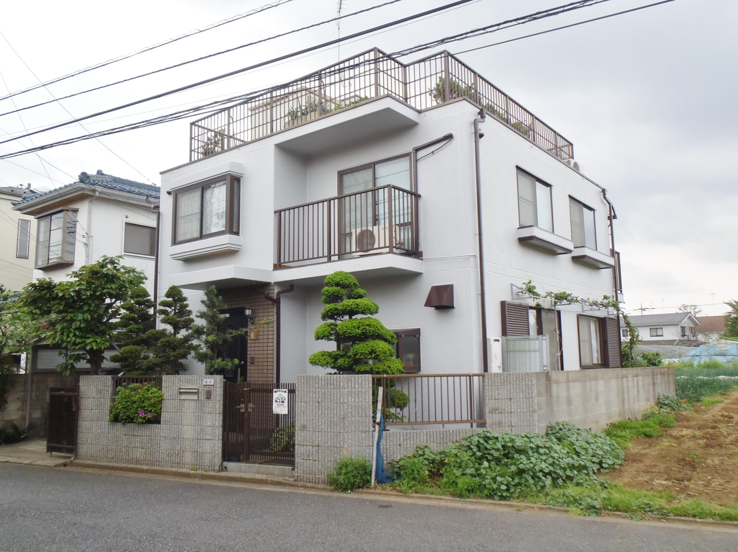 T様邸外壁改修工事 東京都練馬区