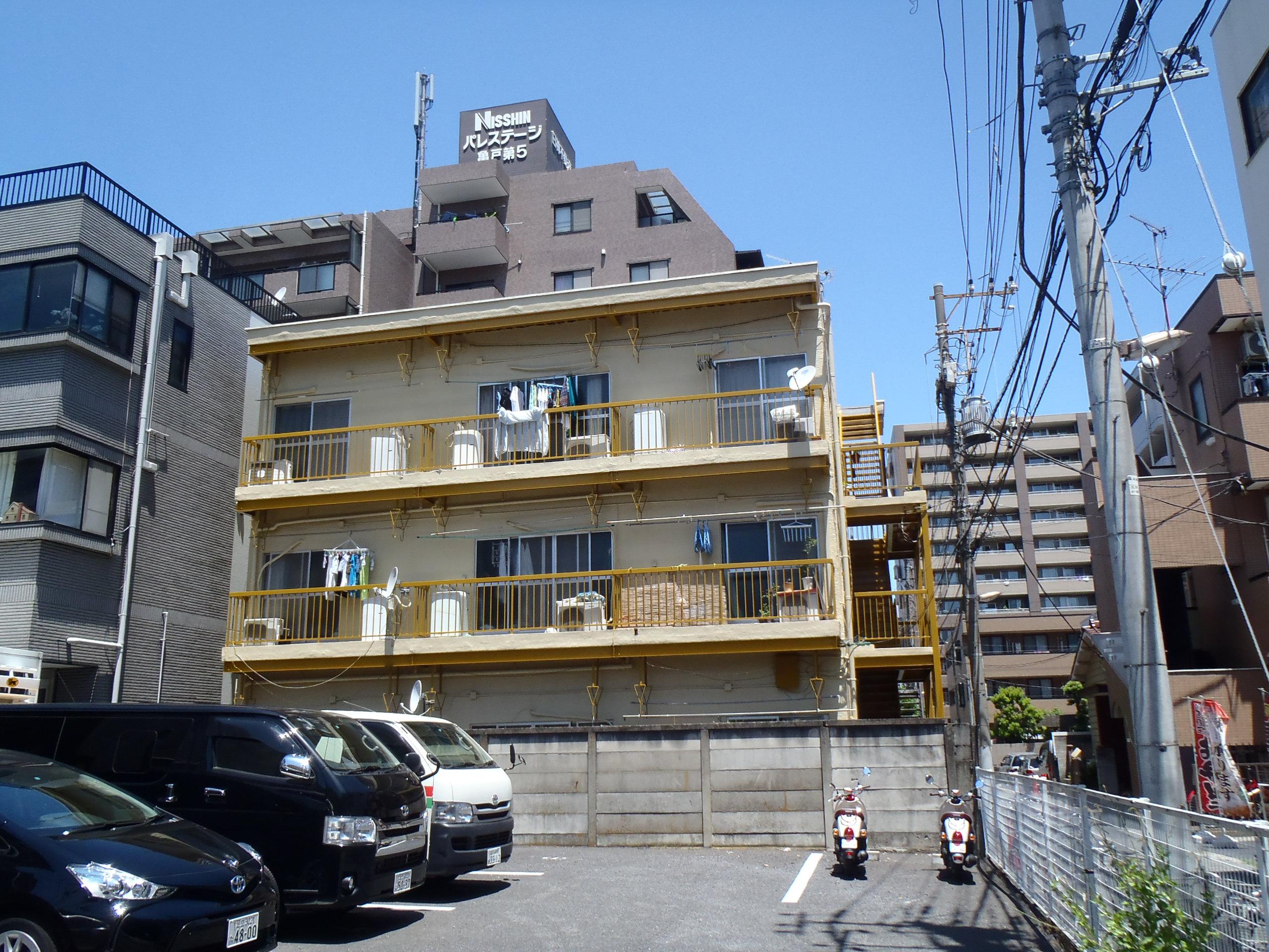 堀口マンション外部改修工事 東京都江東区