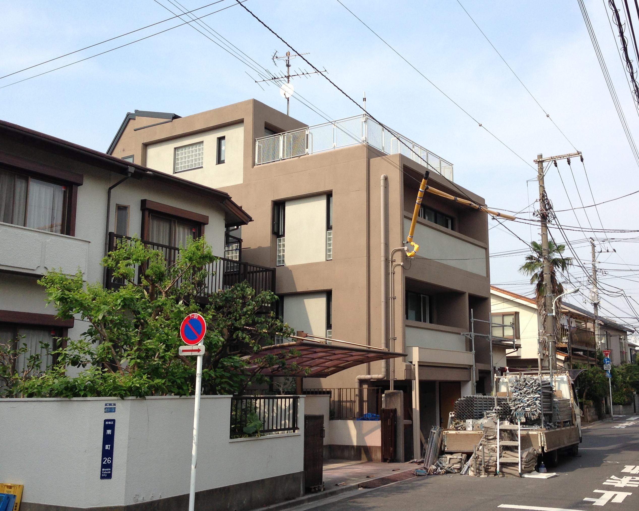石野様邸外部改修工事 東京都板橋区