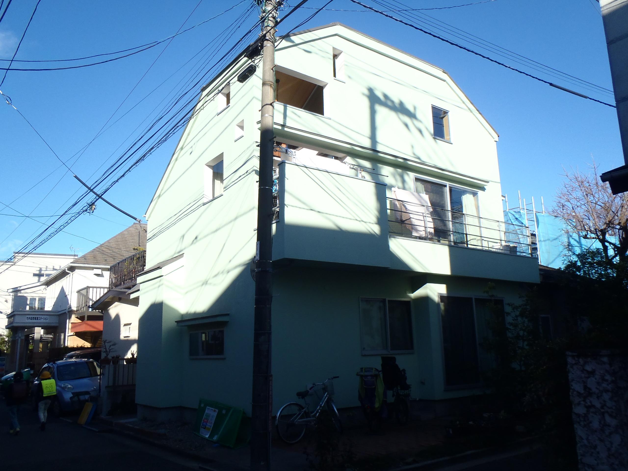 IK様邸外部改修工事 東京都杉並区